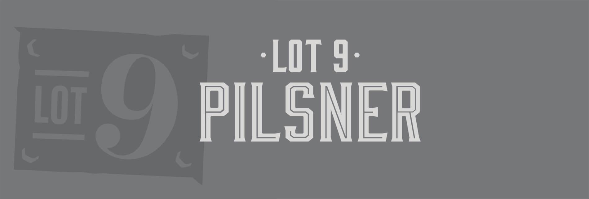 Lot 9 Pilsner