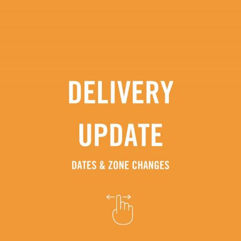 Hey Muskoka, we've now expanded our delivery service to get fresh Creemore down the road to you every Thursday! 🍻🙌  With this expansion though, comes some changes to our existing service. Starting now, we are going to be moving to a new zoning system. 👉 Swipe through to see how these changes might affect you.