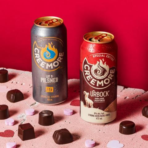 Happy Valentine's Day folks! We hope you get a chance today to kick back, relax & enjoy a fresh Creemore with that special someone. Hint: our urBock pairs extremely well with some dark chocolate and our Pilsner...well it's simply delicious anytime. 😉❤️🍻