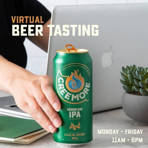 Are you and your colleagues in dire need of a virtual team bonding activity? Why not learn all about Creemore from a Master Beer Sommelier through our corporatevirtual beer tastings!  We'll set you & your team up with fresh Creemore and glassware and teach you all there is to know about beer, food pairings and more! If you're interested, please email thefolks@creemoresprings.com and we'll send you all the details!